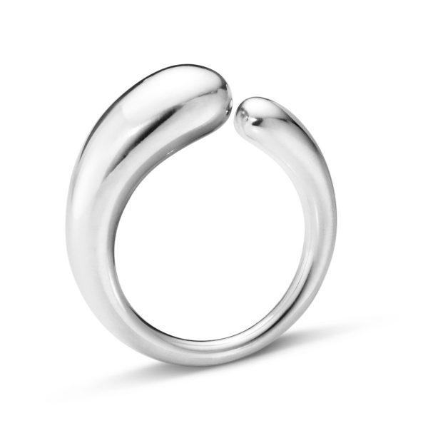 Mestergull Mercy Ring i sølv - Liten GEORG JENSEN Mercy Ring