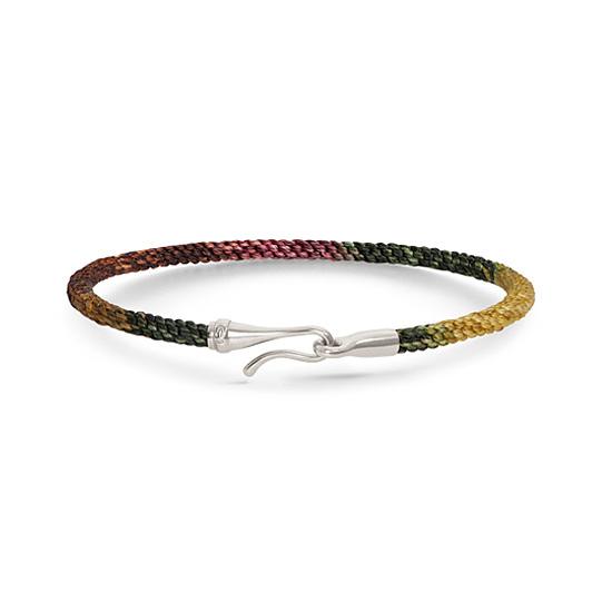 Mestergull Life armbånd med sølvlås i fargen Plum (15, 17, 18, 19, 20 eller 21 cm) LYNGGAARD Life Armbånd