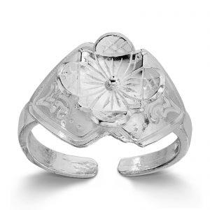 Mestergull Ring i sølv til Buskerudbunaden, dame LOKAL BUNAD Ring