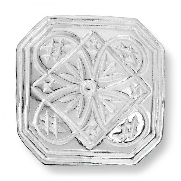 Mestergull Store knapper i sølv til Buskerudbunaden, herre LOKAL BUNAD Knapp