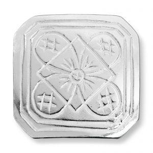 Mestergull Små knapper i sølv til Buskerudbunaden, herre LOKAL BUNAD Knapp