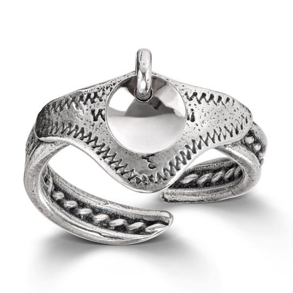 Mestergull Ring i oksidert sølv til Sunnmørsbunaden LOKAL BUNAD Ring