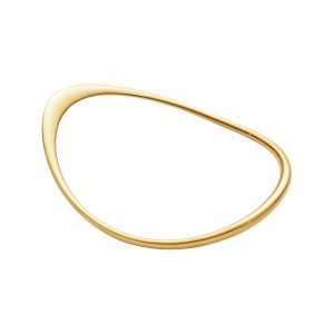 Mestergull Offspring tynn armring i gult gull GEORG JENSEN Offspring Armring
