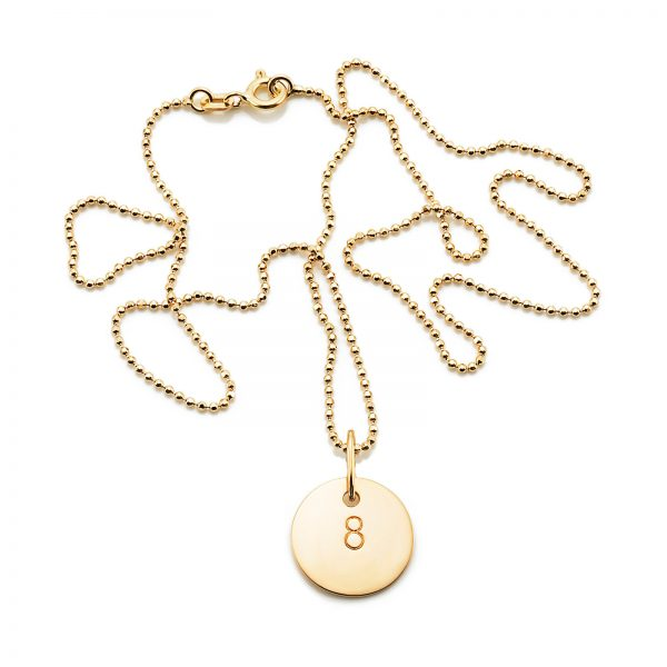 Mestergull The number eight is a sign of happiness and prosperity in Asia. - Efva Attling EFVA ATTLING Baby Luck Anheng