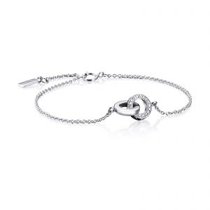 Mestergull You and I are linked together by love. - Efva Attling EFVA ATTLING You & Me Armbånd