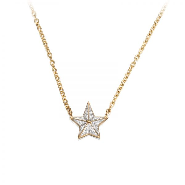 Mestergull Catch a falling star and wish for everything you dream about. Only you can make your dreams come true. - Efva Attling EFVA ATTLING Catch a Falling Star Kjede