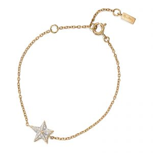 Mestergull Catch a falling star and wish for everything you dream about. Only you can make your dreams come true. - Efva Attling EFVA ATTLING Catch a Falling Star Armbånd