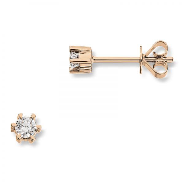 Mestergull Klondike er enstens serien med de gode prisene, et elegant design i gult eller hvitt gull. Diamanten velger du i størrelsene 0,03 ct. til 0,20 ct. KLONDIKE Ørepynt