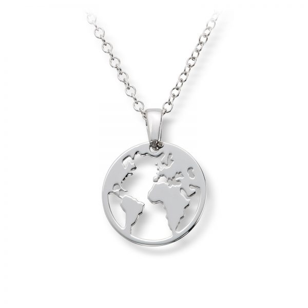 Mestergull Trendy anheng i rhodinert sølv - verdenskart GID Anheng