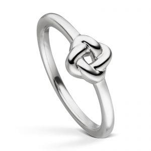 Mestergull Delikat ring i rhodinert sølv VIVENTY Ring