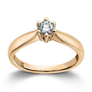 Mestergull Madonna? er originalen og enstens klassikeren med matchende diamantring, anheng og ørepynt i gult eller hvitt gull. Velg mellom diamanter i størrelser fra 0,10 ct. til 2,00 ct. MADONNA Ring