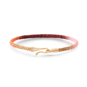 Mestergull Life armbånd med GULT GULL lås i fargen Berry (15, 16, 17, 18, 19, 20 eller 21 cm) LYNGGAARD Life Armbånd
