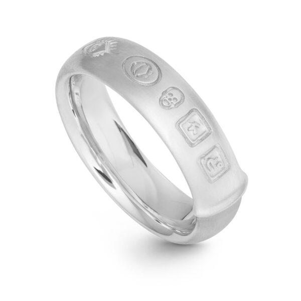 Mestergull Ring Julius i sølv LYNGGAARD Ring