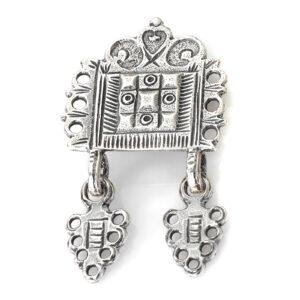 Mestergull Støl i oksidert sølv til Romeriksbunaden ROMERIKSSLV Belte