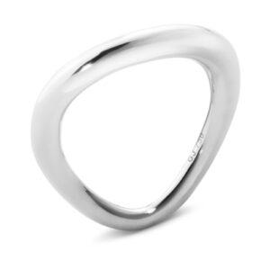 Mestergull Offspring ring i sølv GEORG JENSEN Offspring Ring